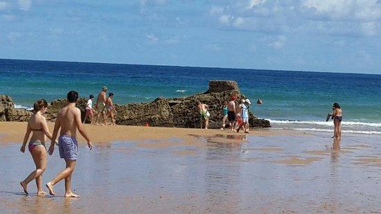 Tryp San Sebastian Orly Hotel: La playa en San Sebastian