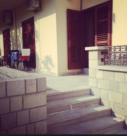Hotel Marija 2: View to room #3 entrance