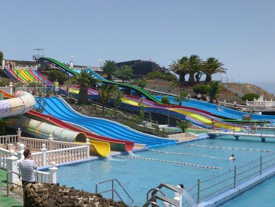 Aquapark Costa Teguise : Sliders