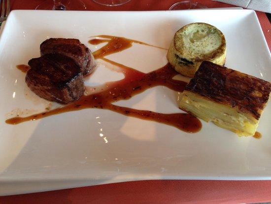 Au Vieux Honfleur : Filet of duck