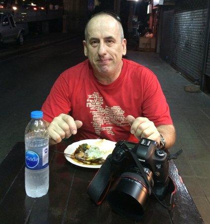 VIE Hotel Bangkok, MGallery by Sofitel: Street food across the from the Vie,
