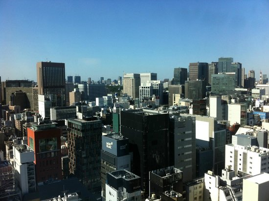 Mitsui Garden Hotel Ginza Premier: Awesome city view from the room