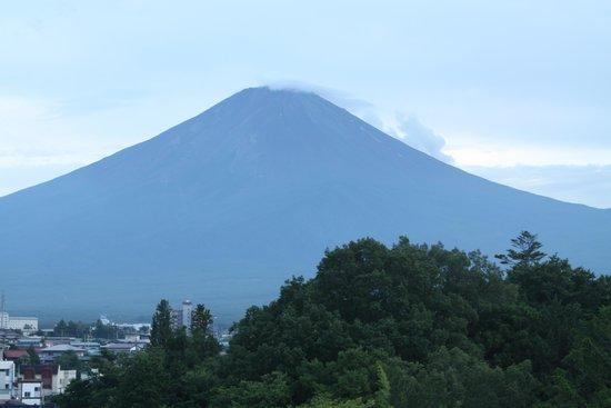 Fuji Lake Hotel: 展望室からの富士山