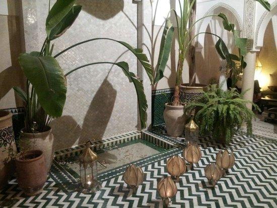 Riad Palau : fountain