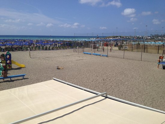 Chiavari, Ιταλία: Il campo da Beach Volley!