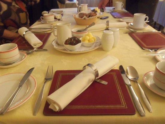 Brennan's B&B: la tavola per il breakfast