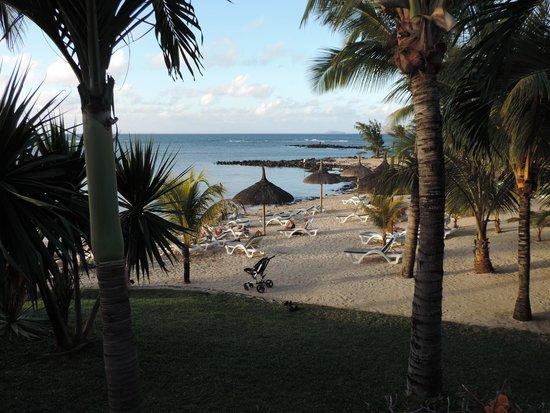 Canonnier Beachcomber Golf Resort & Spa : Beach Area