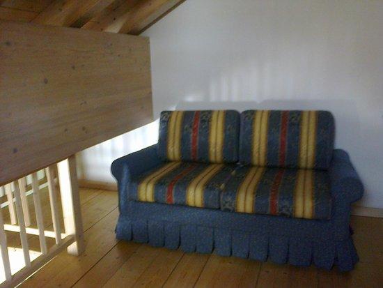 Leading Relax Hotel Maria: Lato del soppalco (Junior Suite Belladonna)