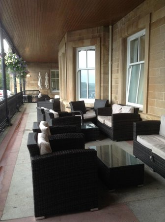 Doubletree by Hilton, Dunblane-Hydro: veranda