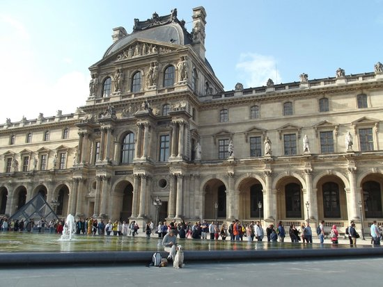 Musee du Louvre: esterno