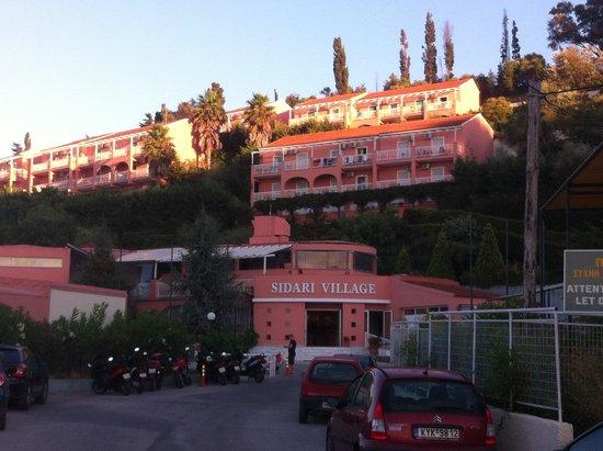 Panorama Sidari: View of apartments