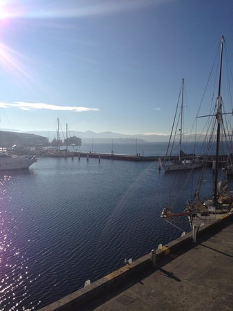 Somerset on the Pier Hobart: Room with a view