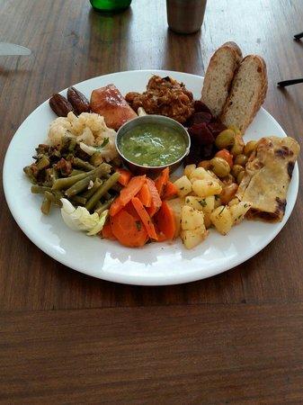 Cafe Clock : 'Kech Platter of Moroccan tapas