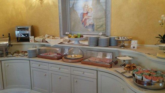 Pierre Hotel Florence: Le buffet du petit déjeuner