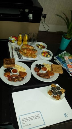 K West Hotel & Spa: Breakfast Contenential & full english