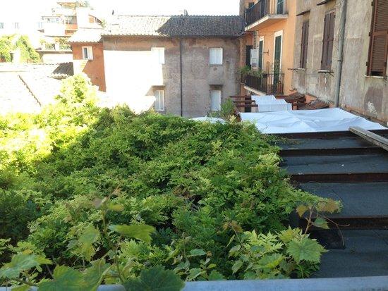 Residenza Arco dei Tolomei: Vista desde la terraza de la habitacón