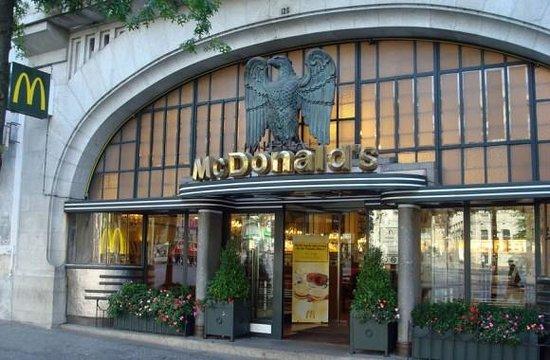 McDonalds Porto : Entrée