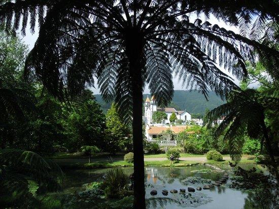 Terra Nostra Garden Hotel: Le parc et Furnas