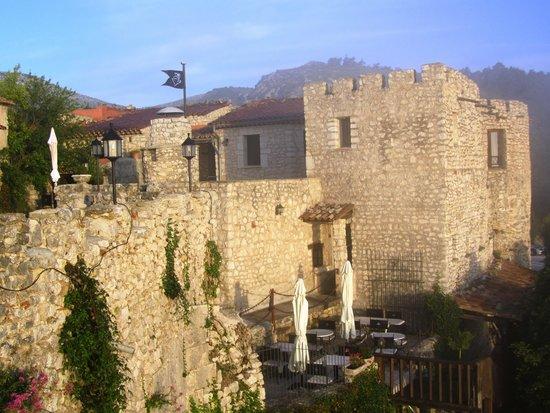 Chateau de Trigance : l'hôtel