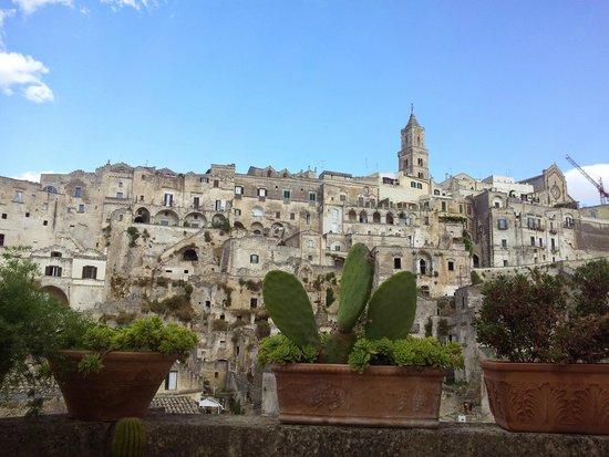 Fra i Sassi Residence: la vista dal terrazzino