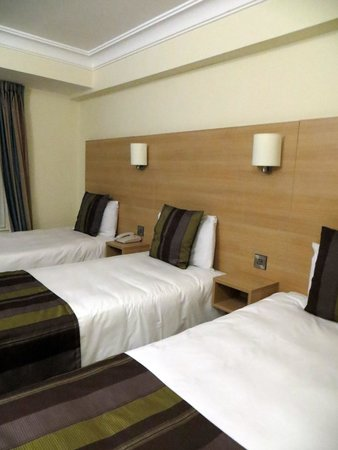 The Fleet Street Hotel: camera tripla