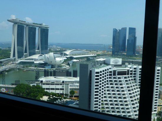 Pan Pacific Singapore: Our room with a view .............
