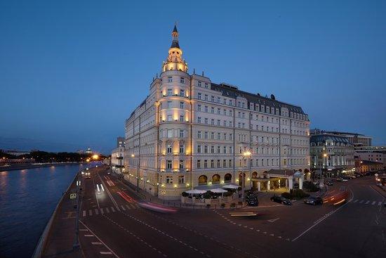 Hotel Baltschug Kempinski Moscow : Hotel Baltschug Kempinski – Exterior (Night)