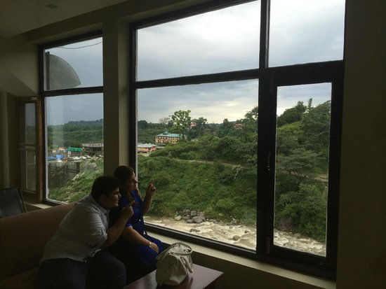 Hotel Vatika : GOOD VIEW FROM WINDOW