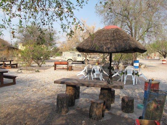Maori Camp Site Grootfontein : Ankunft
