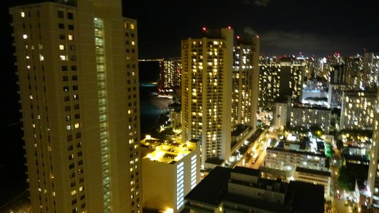 Pacific Beach Hotel : Night view
