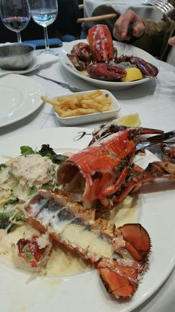 Lpdj: Lobster lunch