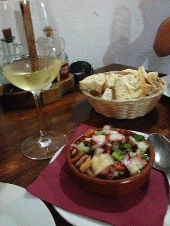 Tasca Casa Paco: Octopus salad