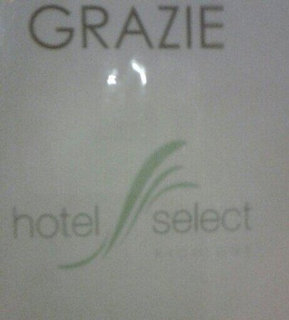 Hotel Select Suites & Spa: Giá.Grazie Hotel Select:-)