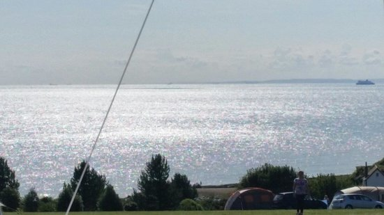 Kingsdown International Camping Centre : View from camp