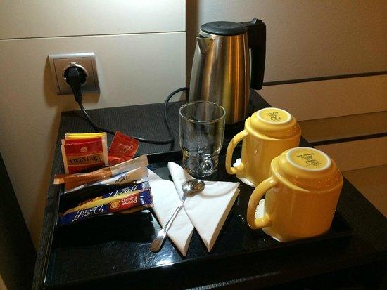 Park Inn by Radisson Oslo Airport : coffee & tea