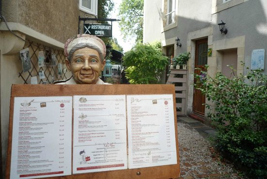 Le Moulin De La Galette: menu