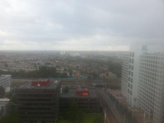 NH Den Haag: uit zicht van de bovenste verdieping