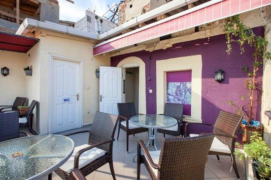 Rapunzel Hostel: Our Terrace
