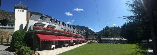 Andorra Park Hotel : Fachada del edificio histórico