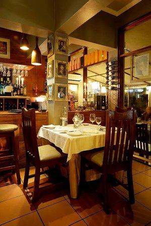 Bel Piatto: Inside area