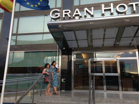 Gran Hotel Torre Catalunya : Hotel Entrance