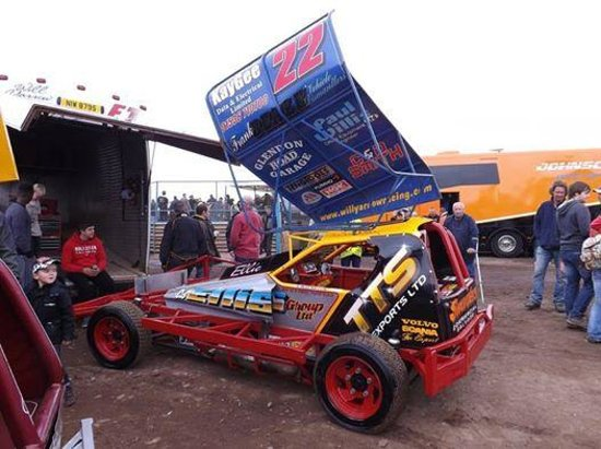 Brandon, UK: A BRISCA F1 CAR YOU WILL SEE AT A MEETING