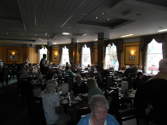 Bay Torbay Hotel: Dining Room.