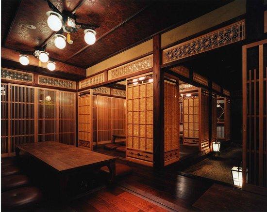 Sumiyaki Gonpachi Azamino: Inside