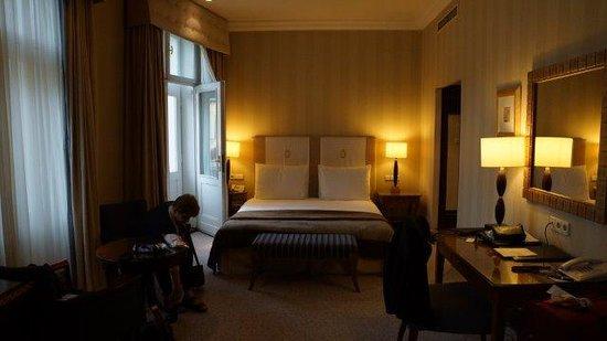 Esplanade Zagreb Hotel : Bed