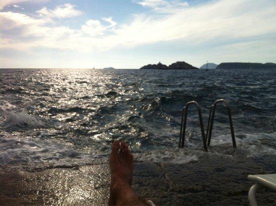 Hotel Dubrovnik Palace : Peux pas être plus prêt..!!! Après c'est dedans !