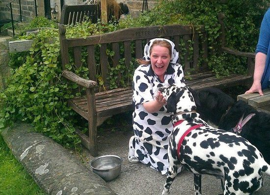 The Crown: Probably the most dalmatian friendly pub in the UK