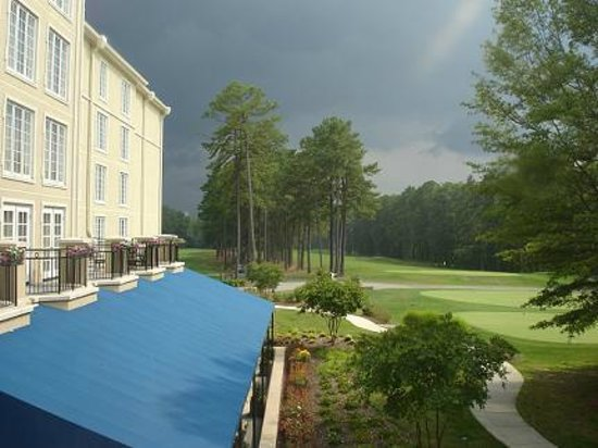 Washington Duke Inn & Golf Club: view from our window