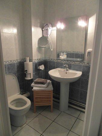 Hôtel L'ideal Le Mountbatten  : Il bagno