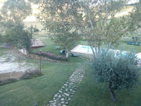 Borgo Belvederi : vista dalla camera 1